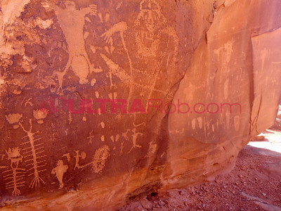 Petroglyphs Along Kane Creek