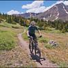 Colorado Trail - descending Georgia Pass - July 2010