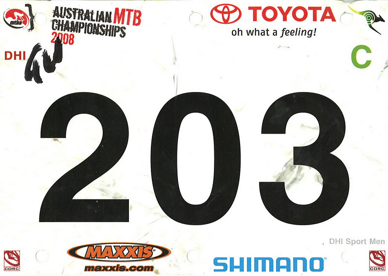 Australian MTB Championships DH 2008