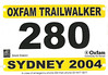 Oxfam Trailwalker 2004