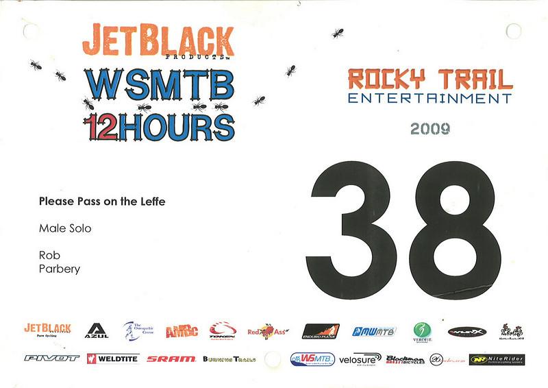 WSMTB 12 Hour 2009