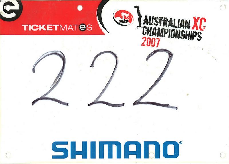 Australian MTB Championships XC 2007