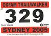 Oxfam Trailwalker 2005