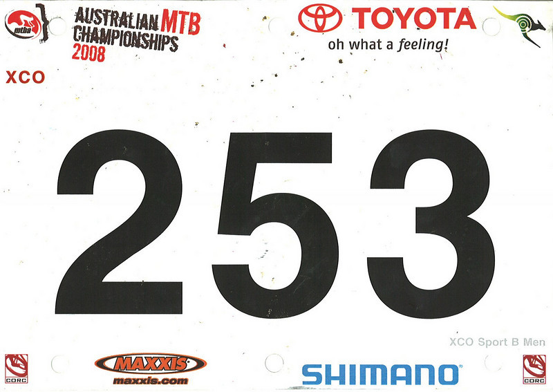 Australian MTB Championships XC 2008