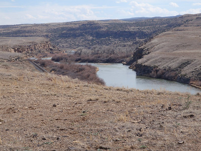 Gunnision River from Old Spanish Trail