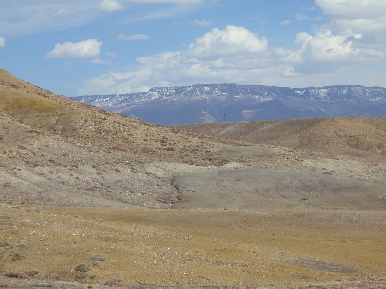 Grand Mesa from Old Spanish Trail