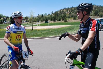 Matt Simmons and Alan Keeffe - Ascent Cycling MTB Series - Palmer Park