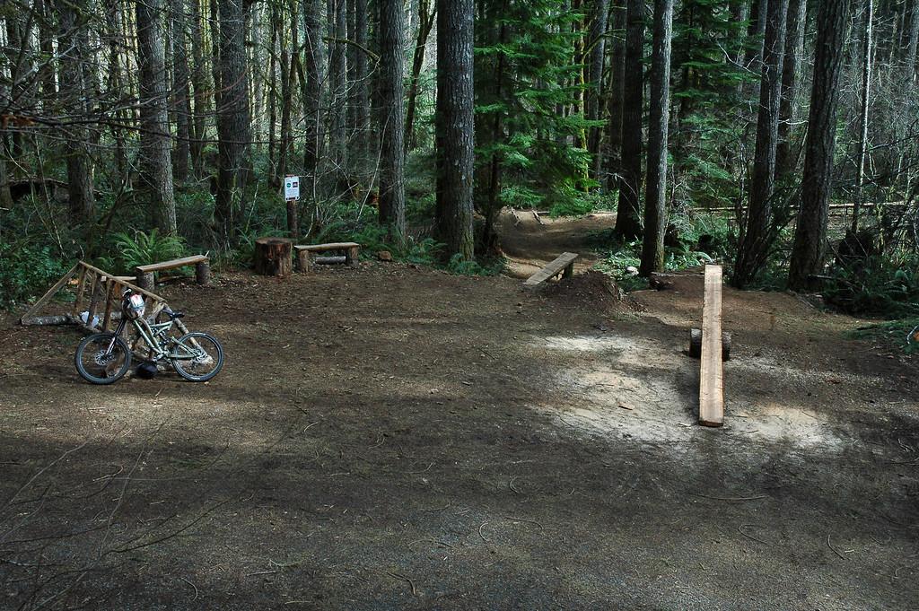 """(BRMBA) Basic Training """"parking"""" area (March 2006)"""