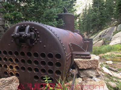 Old Equipment at Oil Creek Tunnel