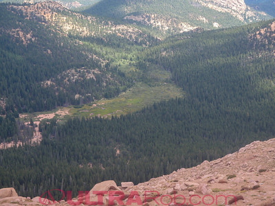 View from Pikes Peak Highway