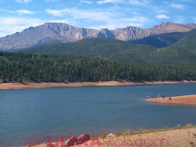 Pikes Peak and Crystal Reservoir