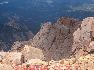 View from Pikes Peak Summit