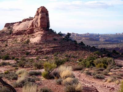 Rocks on Porcupine Rim