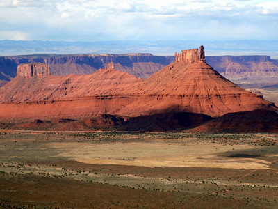 Castle Valley from Porcupine Rim