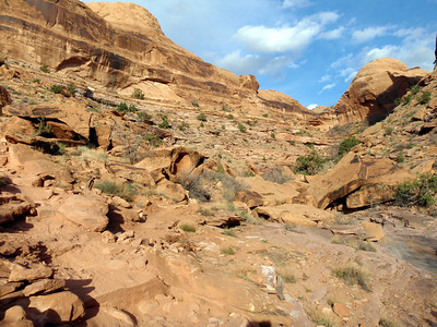 Bottom of Porcupine Rim Trail
