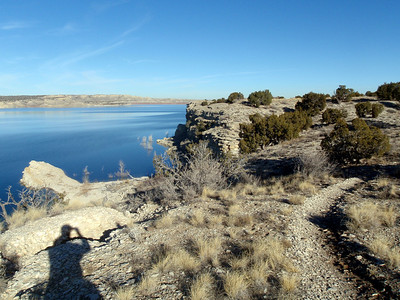 Mountain Biking Pueblo Reservoir
