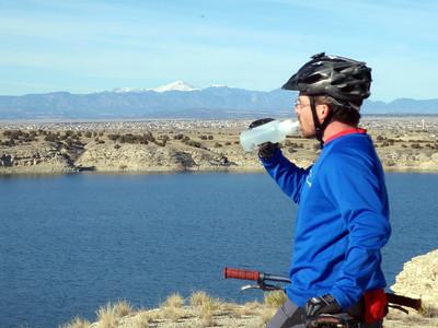 Steve from UpaDowna.com Mountain Biking Pueblo Reservoir