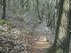 Another short steep bench cut section of trail