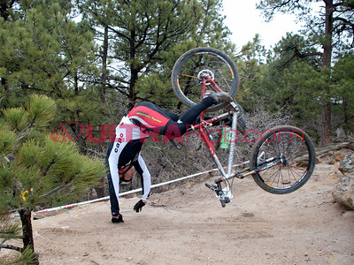 Mountain Bike Crash in Palmer Park
