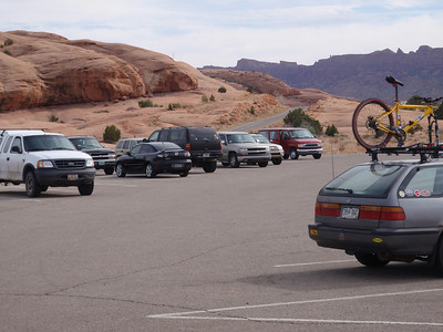 Moab Slick Rock Trail Parking Lot