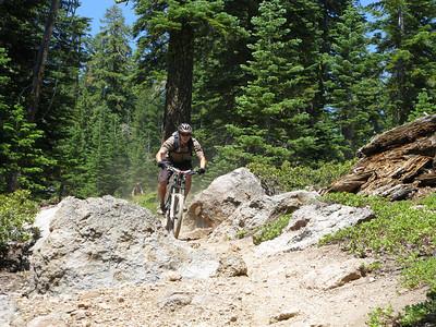 """Tahoe City """"The Three Peaks"""" July 2008"""