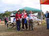 Under 15 Male Podium (Left to right) Kye Polverino - 3rd, Michael Baker (CORC) - 1st, Liam Melville (TORC) - 3rd