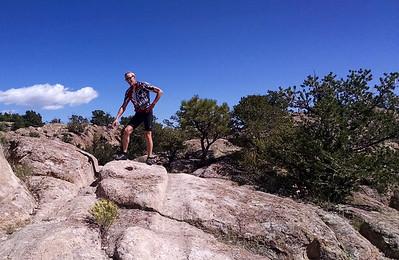 Wagon Ruts in the rock