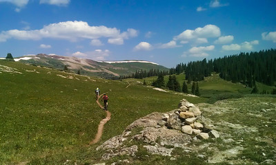 Copper Mountain to Searle Pass