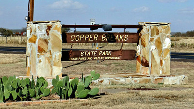 2013 Nov: Copper Breaks State Park, Texas