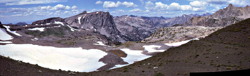 Avalanche Divide Panorama