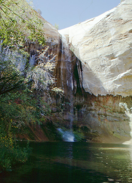 Upper Calf Creek Falls.