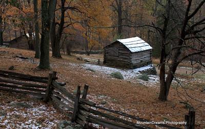 Mountain Farm Museum, Humpback Rocks, Blue Ridge Parkway, VA
