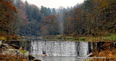 Watauga River Mill Dam, Valle Crucis, NC