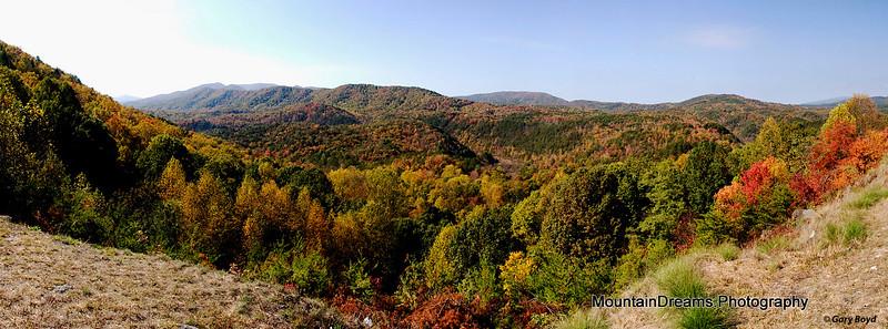 Boyd Gap Panorama, Boyd Gap, TN