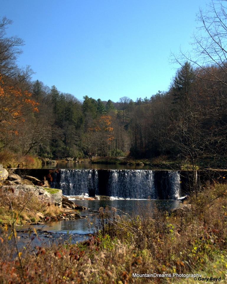 Watauga River Mill Dam II, Valle Crucis, NC