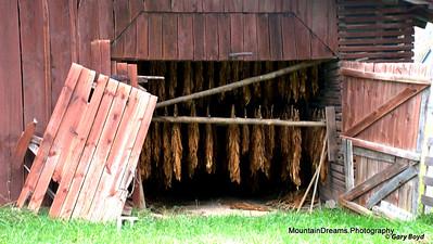 Tobacco Barn, Vale Crucis, NC