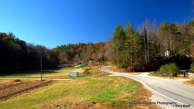 Autumn Below The Blue Ridge
