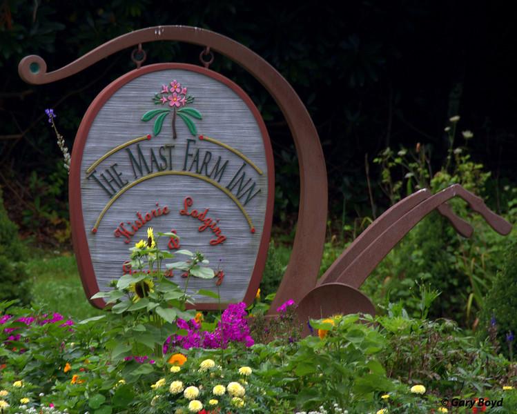 The Sign -  Mast Farm Inn