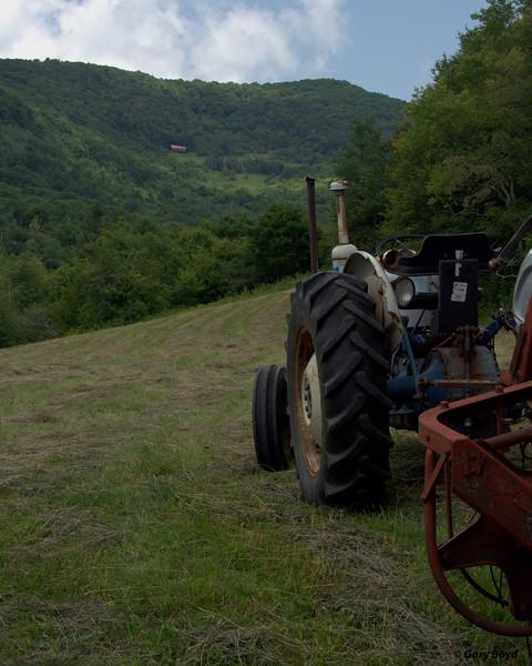 Making Mountain Hay, vert