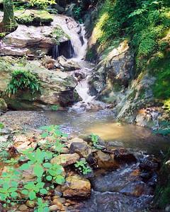 Small Waterfall on Clarks Creek Watauga County