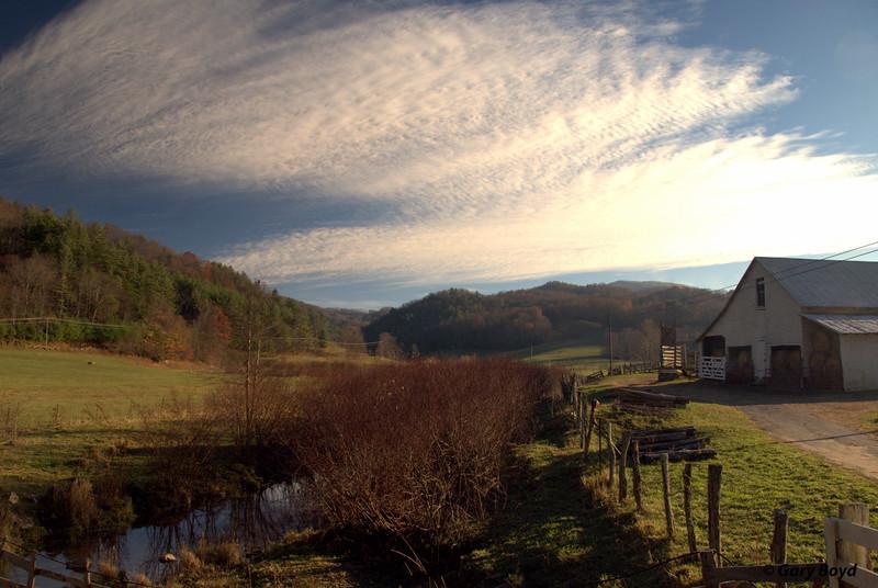Clarks Creek Farm<br /> Valle Crucis, NC