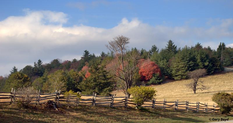 Blue Ridge Parkway Vista<br /> North Carolina