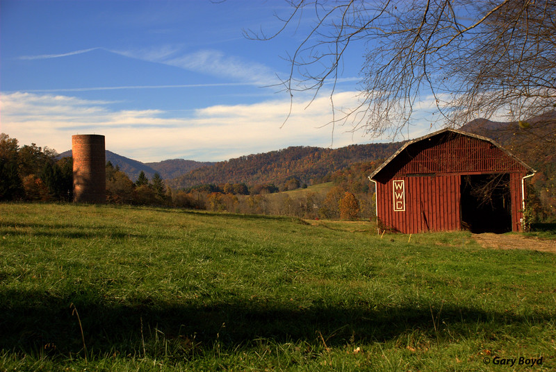Red Barn, Warren Wilson College Farm, Asheville, NC
