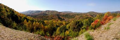 Boyd Gap Panorama - Fall