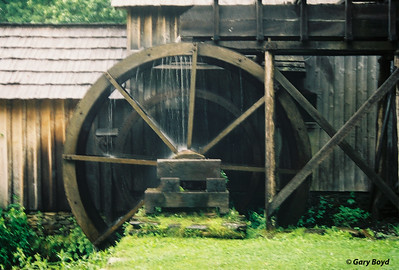 Mabry Mill Waterwheel