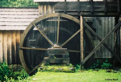 Mabry Mill Waterwheel
