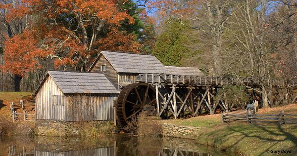 Mabry Mill In Fall