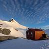Colin Todd Hut under Mt Aspiring