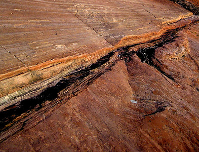 Utah sandstone