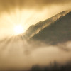 Sunrise on Misty Mountain
